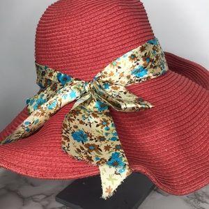 Accessories - Orange Beach Hat
